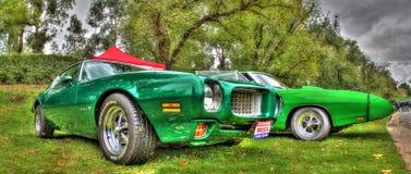 Os anos 60 clássicos Pontiac Firebird Imagem de Stock Royalty Free