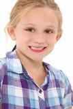 Os anos de idade 7 bonitos fotografia de stock