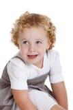 Os anos de idade três felizes Imagem de Stock Royalty Free