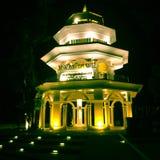 Os 100 anos de Salão da memória, Tailândia Fotos de Stock Royalty Free