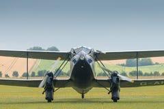 Os anos 30 do vintage do biplano de Dragon Rapide Imagens de Stock Royalty Free