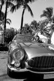 os anos 50 Ferrari 250 detalhes da parte dianteira de TdF Fotos de Stock Royalty Free