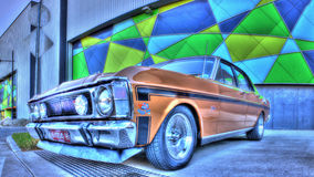 os anos 70 Ford australiano Imagem de Stock