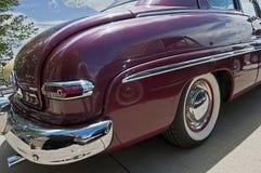 os anos 40 Mercury Rear Fender Detail Foto de Stock Royalty Free