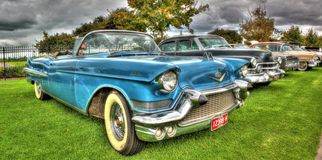 Os anos 50 originais Cadillac Fotos de Stock