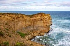 Os 12 apóstolos icônicos no porto Campbell na grande estrada do oceano Foto de Stock Royalty Free