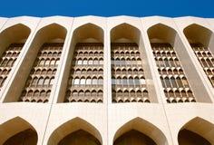 Os arcos são associados tipicamente com o archit árabe Imagens de Stock