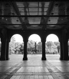 Os arcos de Bethesda Terrace de Central Park Imagens de Stock