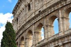 Os arcos de Colosseum Imagens de Stock