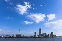 Os arranha-céus de Osaka Imagem de Stock Royalty Free