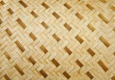 Os artesanatos de bambu fecham-se acima fotografia de stock