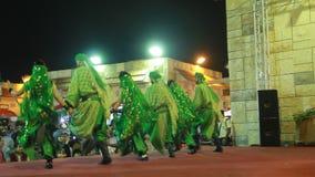 Os artistas de Líbano agrupam o desempenho no festival anual da compra da aldeia global vídeos de arquivo