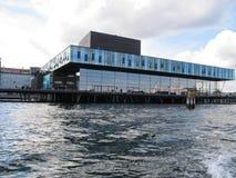 Os atores abrigam em Copenhaga imagens de stock