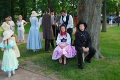 Os atores das crianças Fotografia de Stock Royalty Free