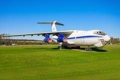 Os aviões de Ilyushin Il-76 Imagem de Stock