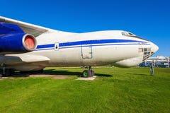 Os aviões de Ilyushin Il-76 Fotografia de Stock Royalty Free