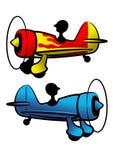 Os aviões engraçados ilustração royalty free