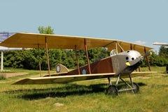 Os aviões os mais velhos com quem aplanam Fotos de Stock Royalty Free