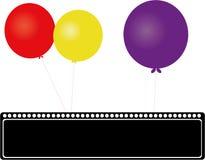 Os balões Imagens de Stock Royalty Free
