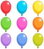 Os balões escolhem Foto de Stock
