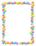 Os balões limitam/frames Imagens de Stock Royalty Free