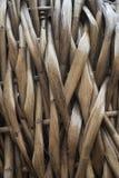 Os bambus aplainados costuraram junto fotos de stock