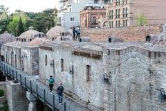 Os banhos velhos do enxofre em Tbilisi Fotografia de Stock Royalty Free