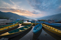 Os barcos Foto de Stock