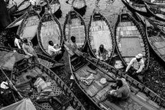 Os barqueiro Fotos de Stock Royalty Free