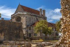 Os bispos abrigam, Winchester, Hampshire, Grâ Bretanha imagem de stock