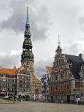 Os Blackheads abrigam em Riga Fotografia de Stock Royalty Free