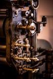 Os botões à máquina antiga Imagem de Stock Royalty Free