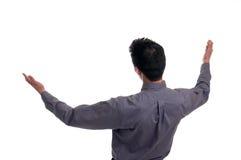 Os braços abrem largamente Fotografia de Stock