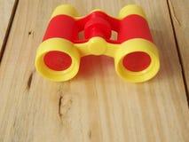 Os brinquedos binoculares imagem de stock