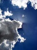 Os céus Fotografia de Stock Royalty Free