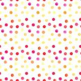 Os círculos coloridos brilhantes transparentes maravilhosos macios artísticos bonitos abstratos modelam o esboço da mão da aquare Foto de Stock Royalty Free