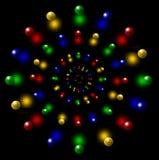 Os círculos da bola Foto de Stock