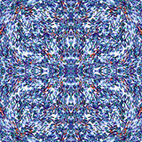 Os círculos e as linhas vetor sem emenda colorido dos objetos abstratos modelam o fundo bonito Foto de Stock