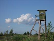 Os caçadores do ambo, as nuvens, o céu fotos de stock royalty free