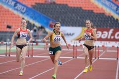8os campeonatos da juventude do mundo de IAAF Fotos de Stock