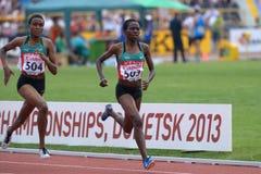 8os campeonatos da juventude do mundo de IAAF Imagens de Stock