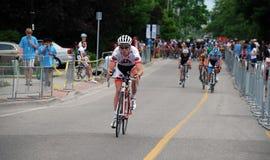 Os campeonatos de ciclagem canadenses, Georgetown, SOBRE Fotos de Stock