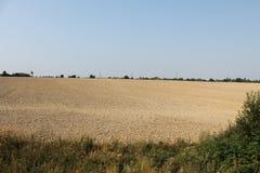 Os campos e as florestas do dia de Rep?blica Checa em agosto fotos de stock royalty free