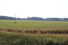 Os campos e as florestas do dia de Rep?blica Checa em agosto fotografia de stock royalty free
