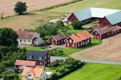 Exploração agrícola escandinava imagens de stock royalty free