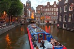 Os canais de Amsterdão Imagem de Stock