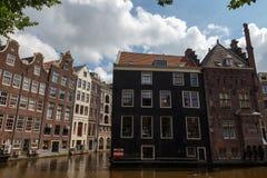 Os canais de Amsterdão Foto de Stock Royalty Free