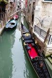 Os canais de Veneza fotografia de stock royalty free