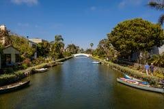 Os canais de Veneza? como aparecem hoje foto de stock royalty free