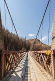 Os capitães constroem uma ponte sobre na garganta dos capitães Foto de Stock Royalty Free